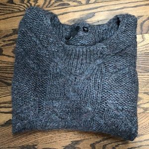Women's JOES JEANS WOOL BLEND CABLE KNIT SWEATER